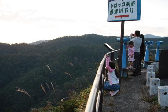 保津峡展望台