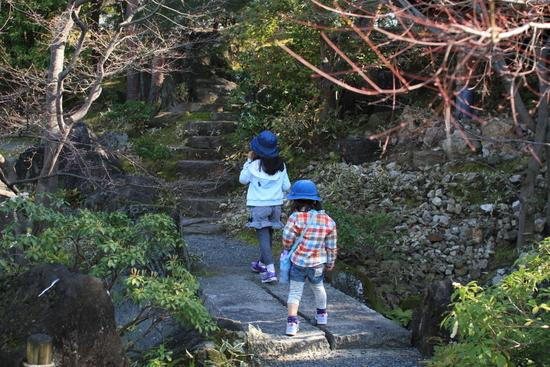 梅小路公園 朱雀の庭